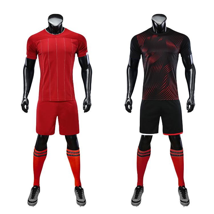 2021 Adult Soccer Jerseys With Numbers Custom Uniform High-Quality Jersey