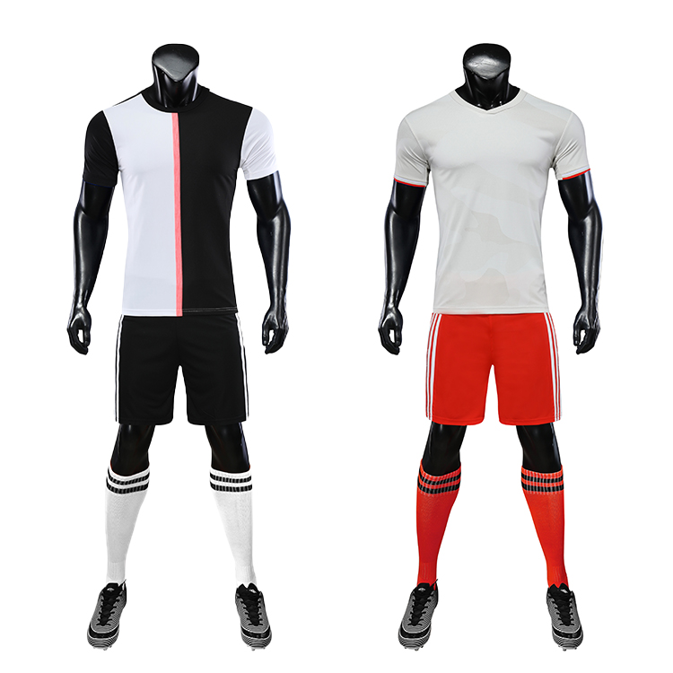 Soccer Wear Oem Soccer Uniform Set Custom Football Jersey Soccer Uniform For Men