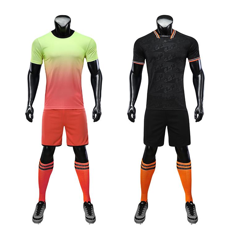 Soccer Wear Soccer Uniform Set Custom Football Jersey