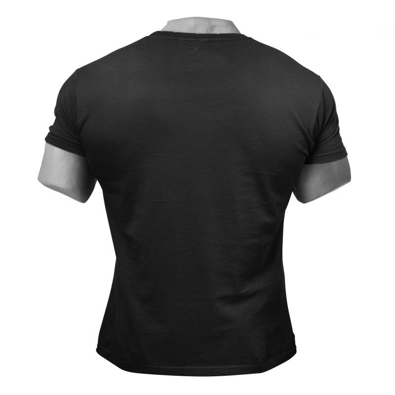 100 Combed Cotton Vintage Fitness Clothing Quick Dry Mens Gym T Shirt