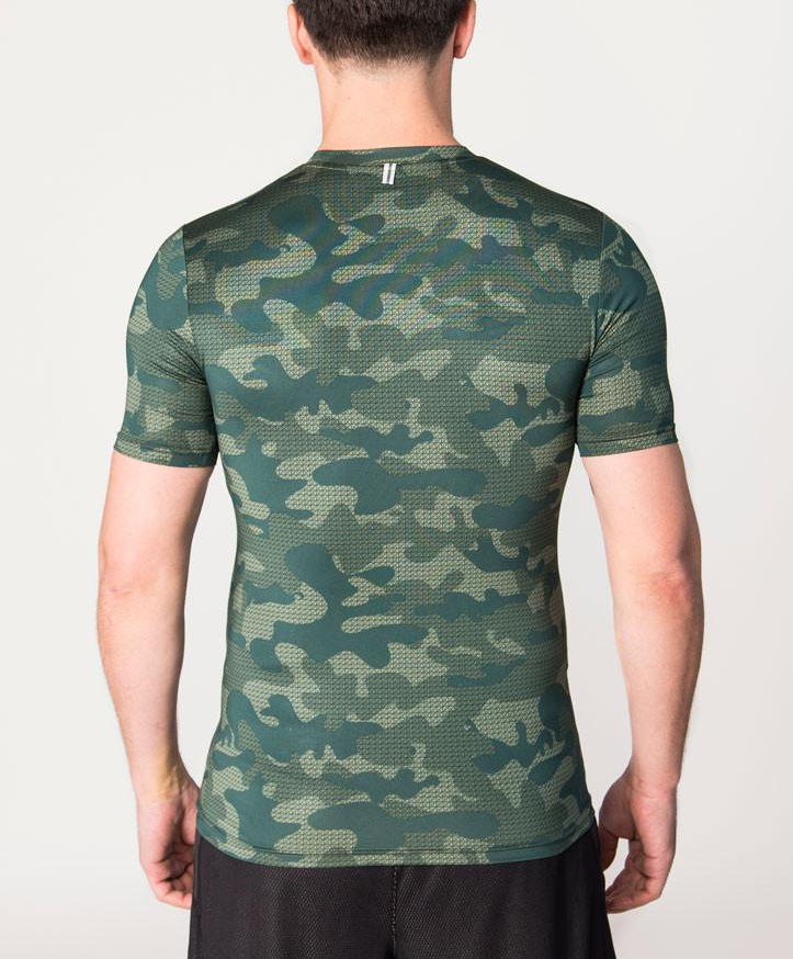 2018 Muscle Dry Fit Camo Fitness Wear Youth T Shirts