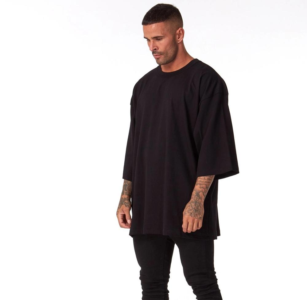 2020 Hot sale casual custom Oversized plain men shirts