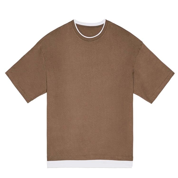 2020 fashion oem oversized gym t-shirts for men