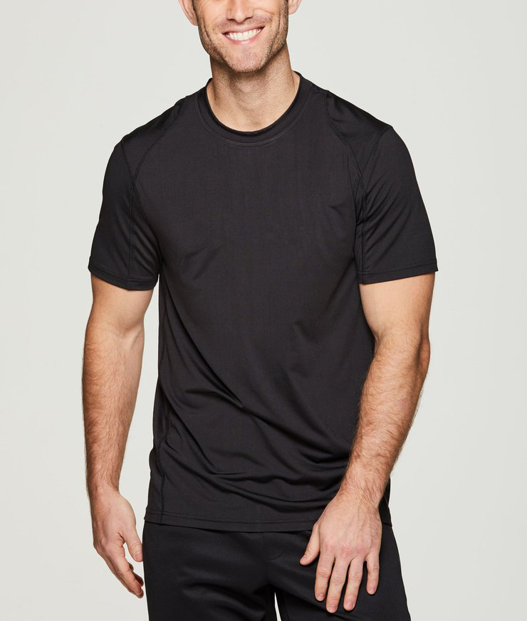92% Polyester 8% Spandex Sport Clothes Mens T Shirt
