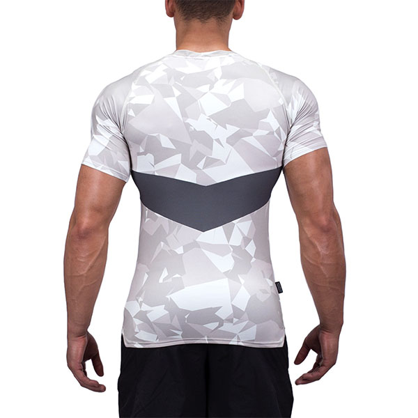 Men Performance Blank Fitted Sports Wear Wholesale Compression Gym T-Shirt