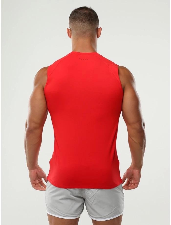 Men's Sleeveless Bodybuilding Fitness T Shirt