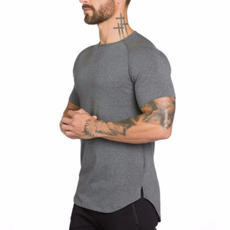 New style Men Gym Fitness Workout Short Sleeve T Shirt