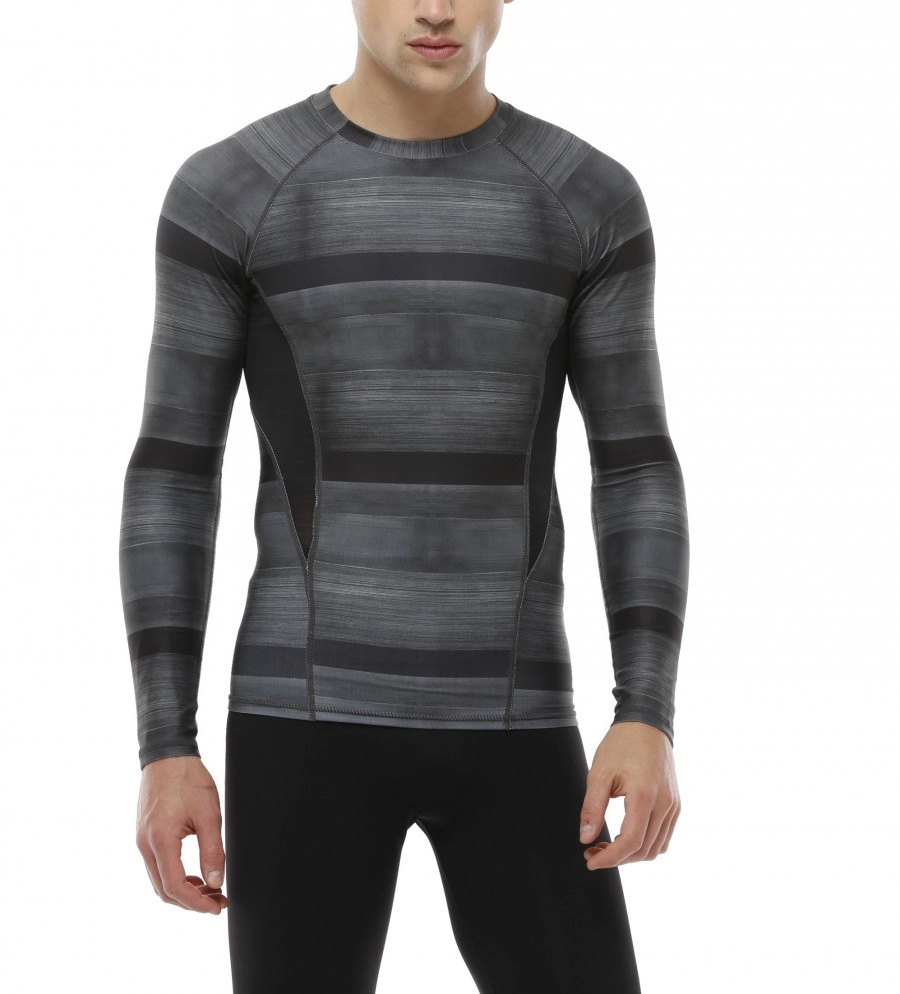 Wholesale Men Fitness Clothing Compression Custom Printed Men T Shirt