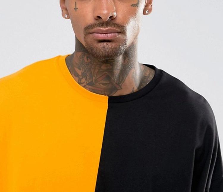 Wholesale Pima Cotton Stylish Oversize T-Shirt For Mens