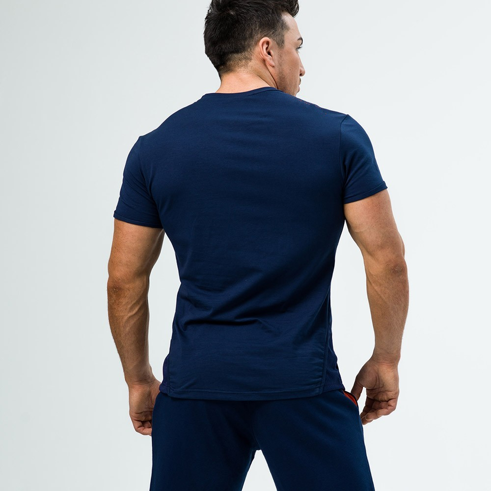 Blank Workut Bodybuilding Clothing Muscle Tight T Shirt Men Wholesale