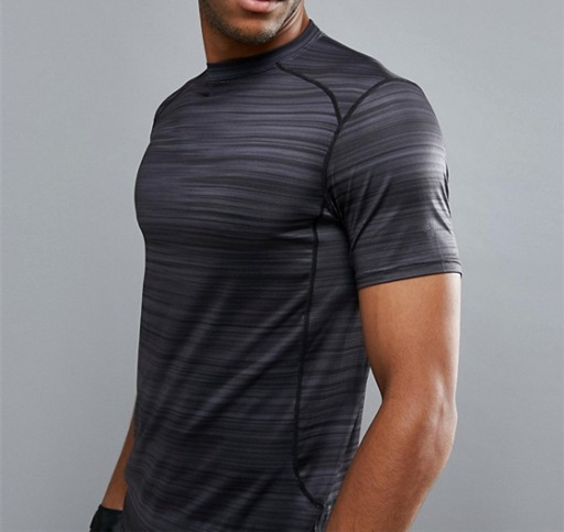 Dry Fit Comfortable Men Sport Fitness Gym Workout T-Shirt