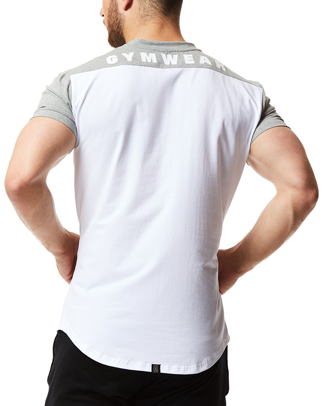 Men Casual Shirts Design Your Own Two Tone T-Shirt