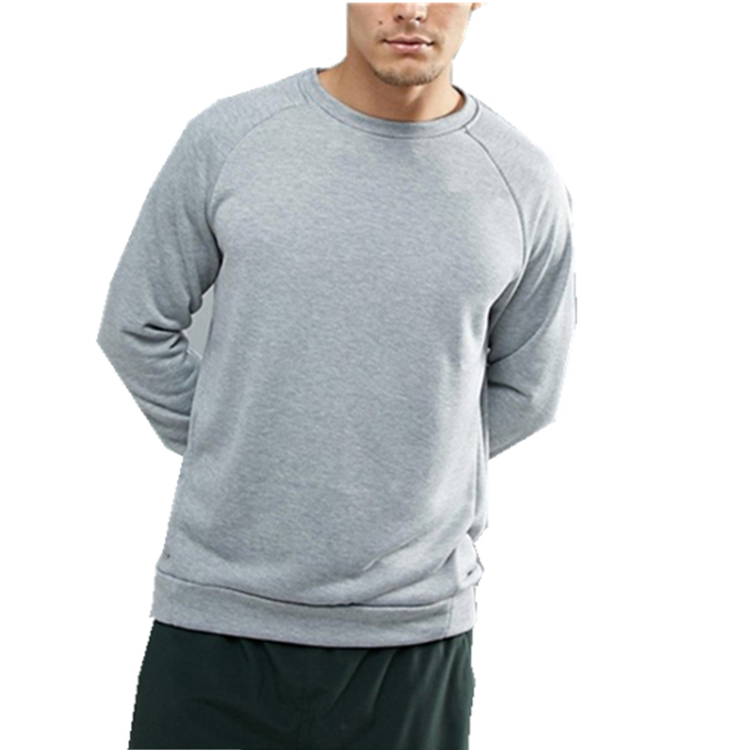 mens winter long sleeve running pullover without hood tracksuit sweatshirts