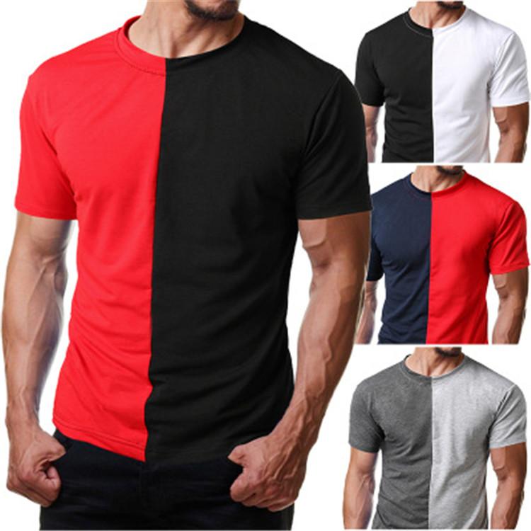 Wholesale Cheap Custom Mens Casual Black And White Shirt