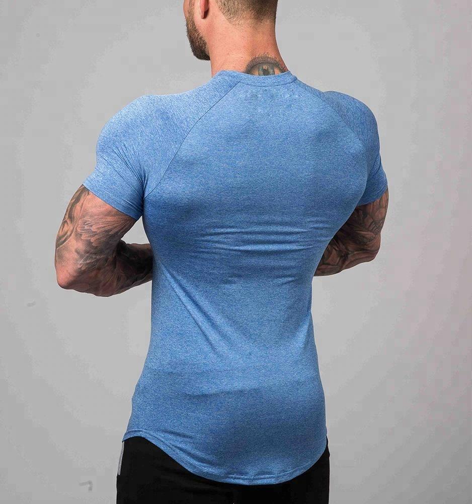 Wholesale Mens Sport Wear Fitted Bulk Plain Gym T-Shirts