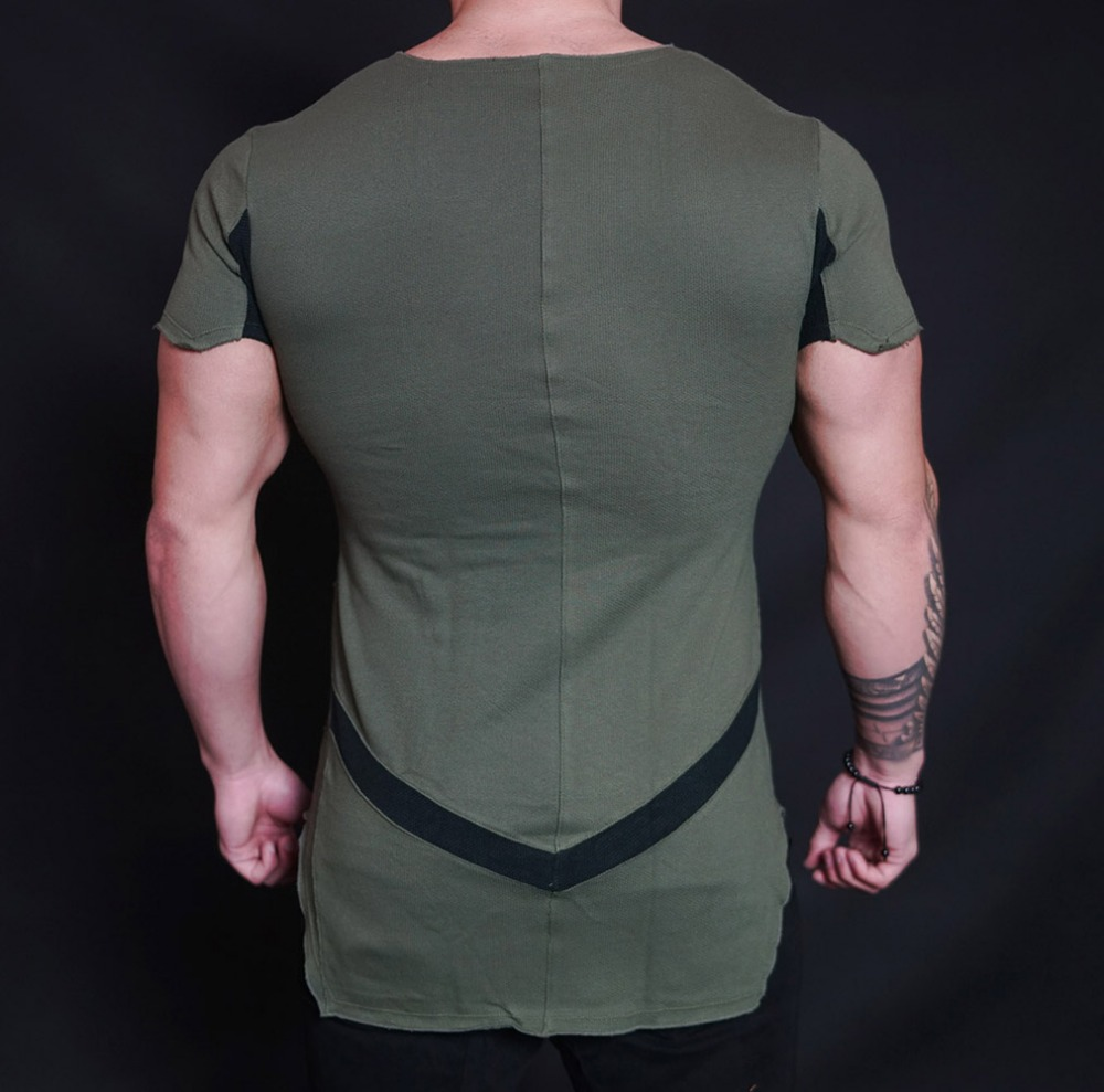 Wholesale Streetwear Clothing Plain Fitness T Shirt