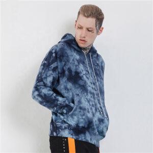 Mens Crew Neck Gym Hoodie Sweatshirt