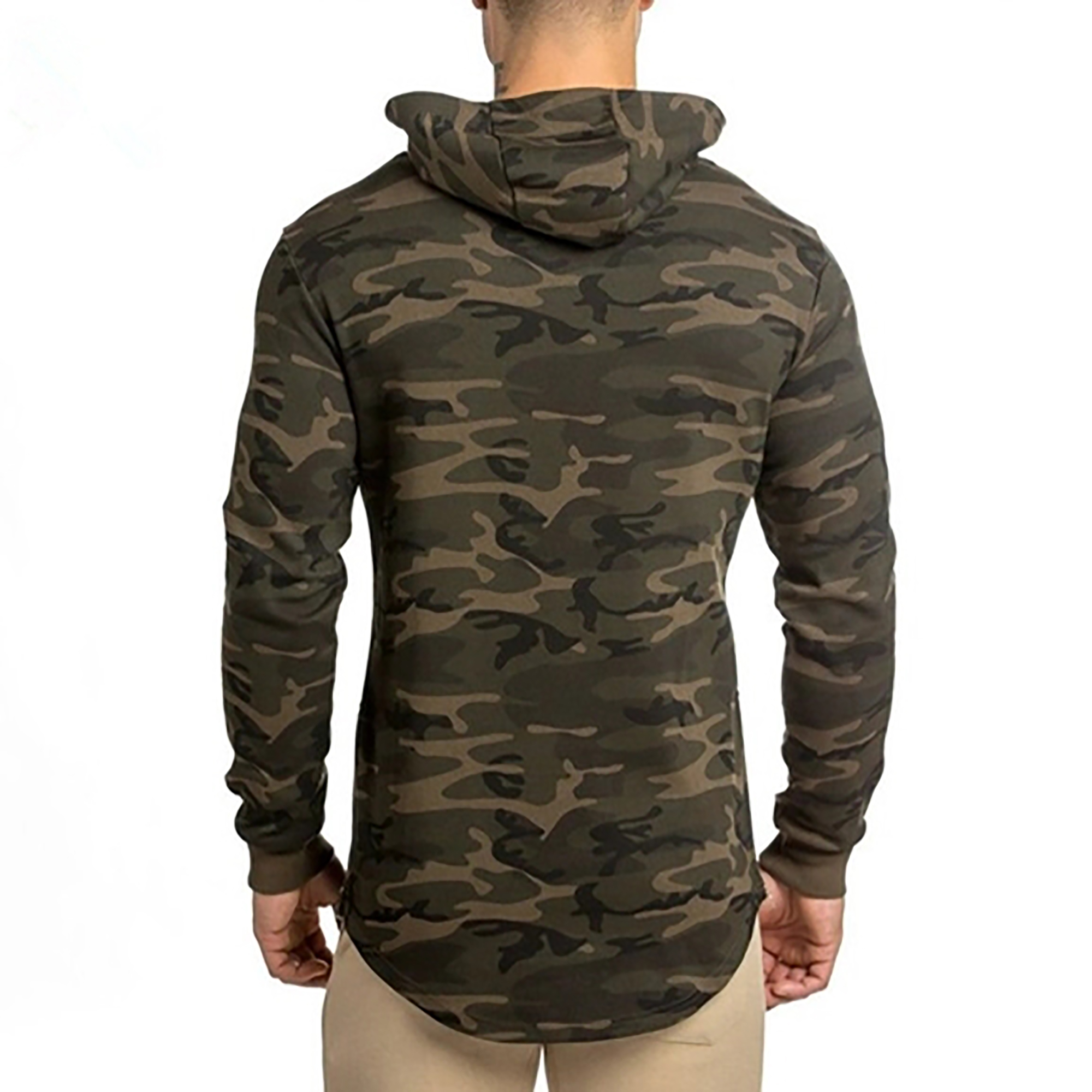 Camo Fitness Tracksuit Plus Size Pullover Hoodies
