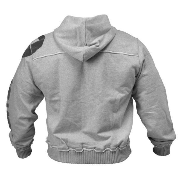 Custom Gym Clothing Badge French Terry Heavy Fitness Hoodie Sweatshirt