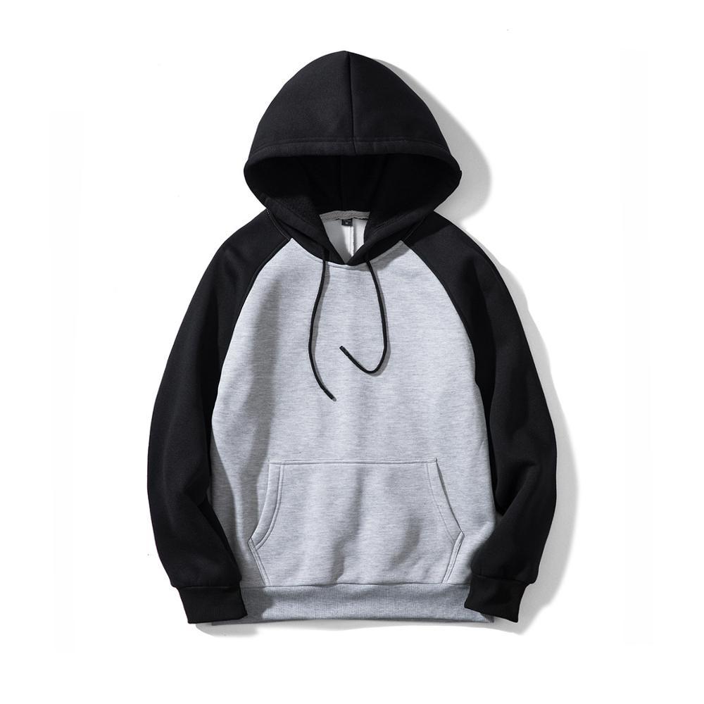 Men raglan hoodies custom fleece blank hoodies sweatshirts Madrid Spain